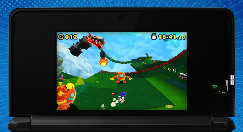 Sonic Lost World 3DS shot