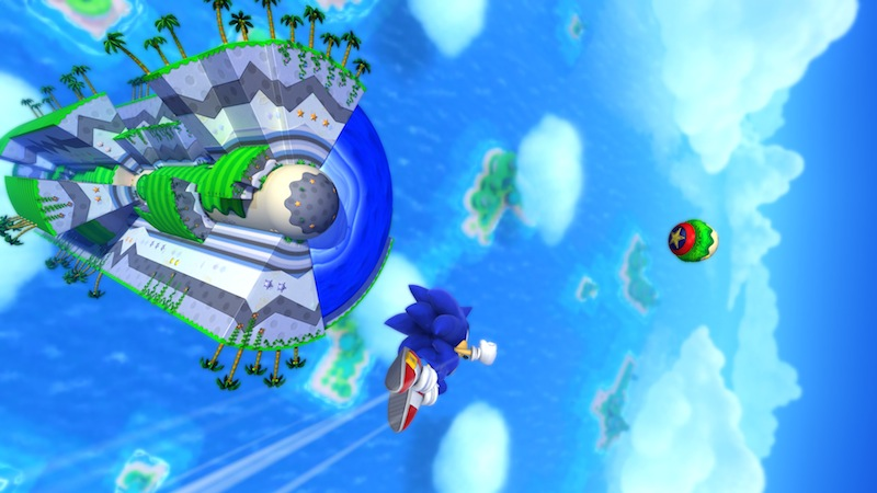Sonic Lost World circle world 20Y