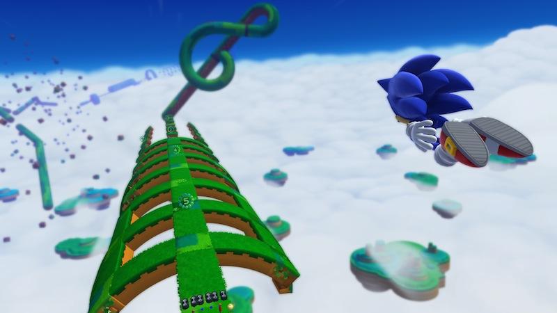 Sonic Lost World circle world