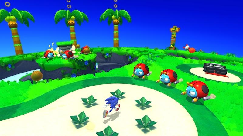 Sonic Lost World platformer