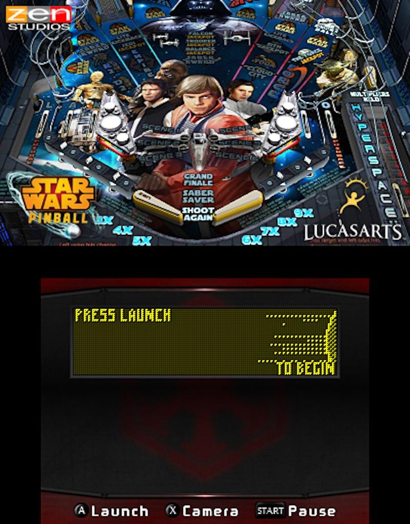 Star Wars Pinball 3DS Episode V