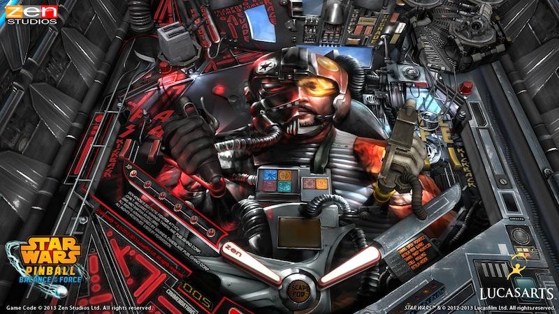 Star Wars Pinball Starfighter_Assault_table_Playfield