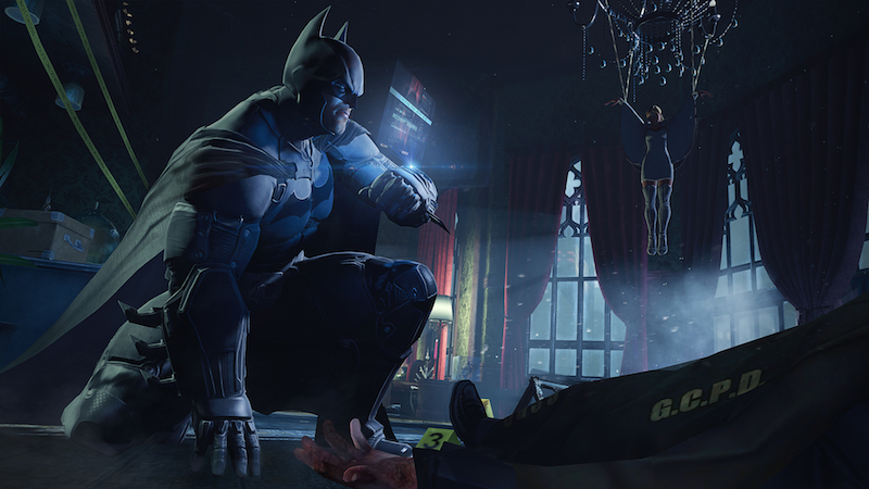 Batman Arkham Origins 01