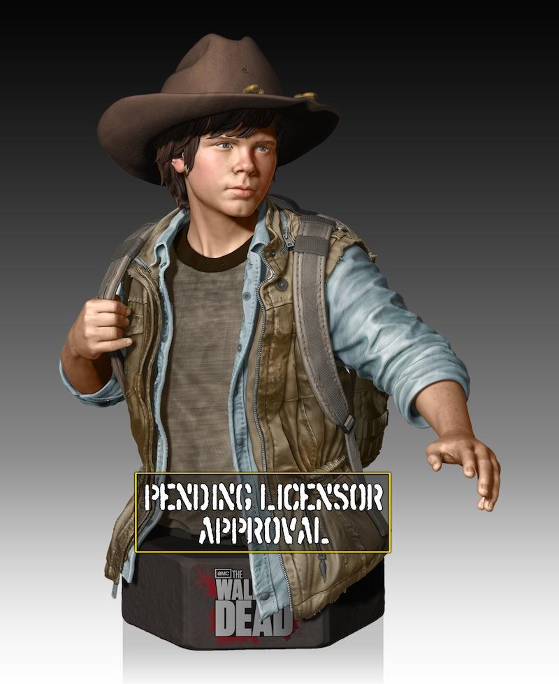 Michonne from The Walking Dead carl