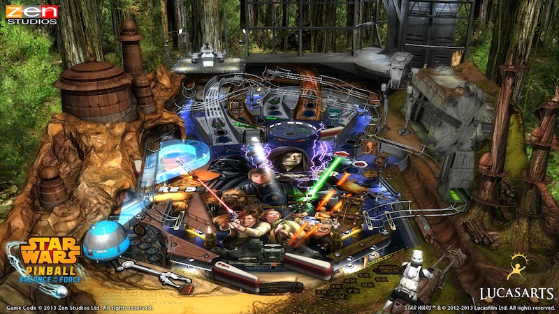Star Wars Pinball Balance Of The Force -  Episode_VI_table