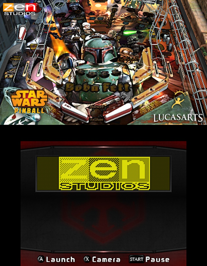 Star Wars Pinball for the 3DS Boba 2