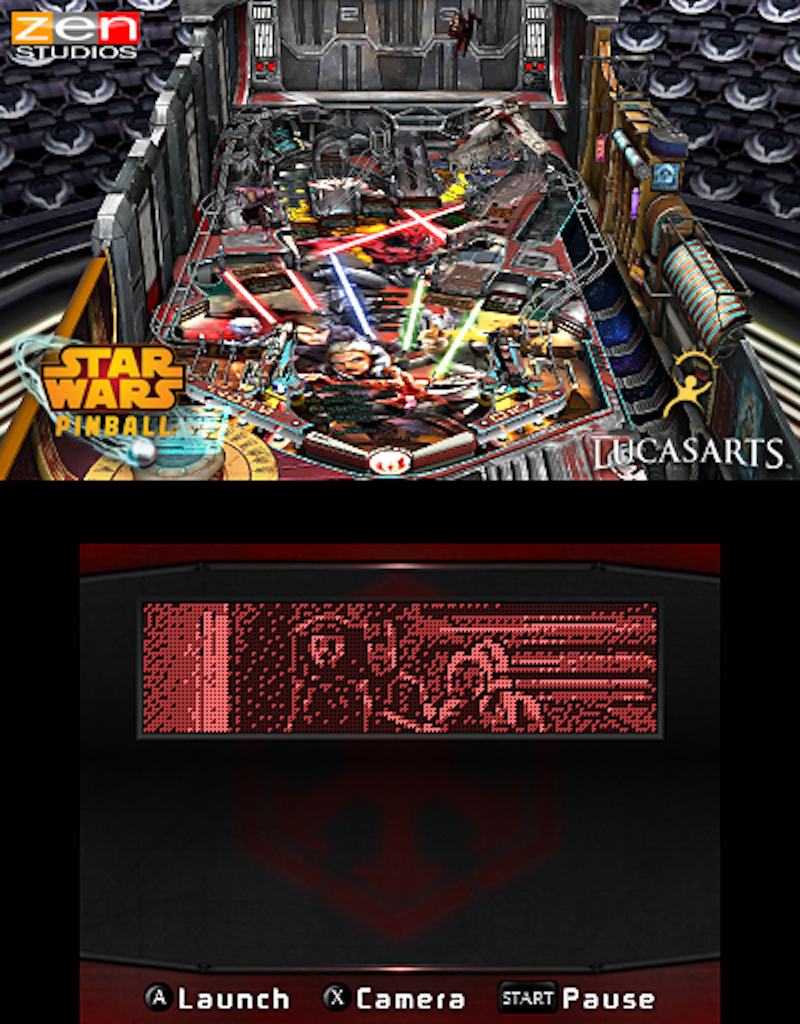 Star Wars Pinball for the 3DS Clone Wars