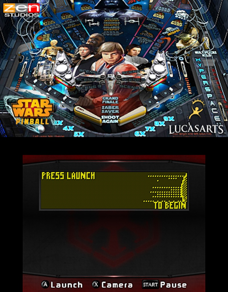 Star Wars Pinball for the 3DS Episode