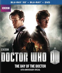 Doctor Who The Day Of The Doctor cover