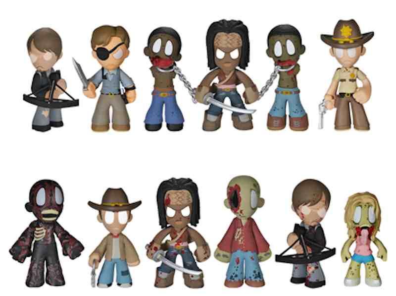 Walking Dead Mystery Minis