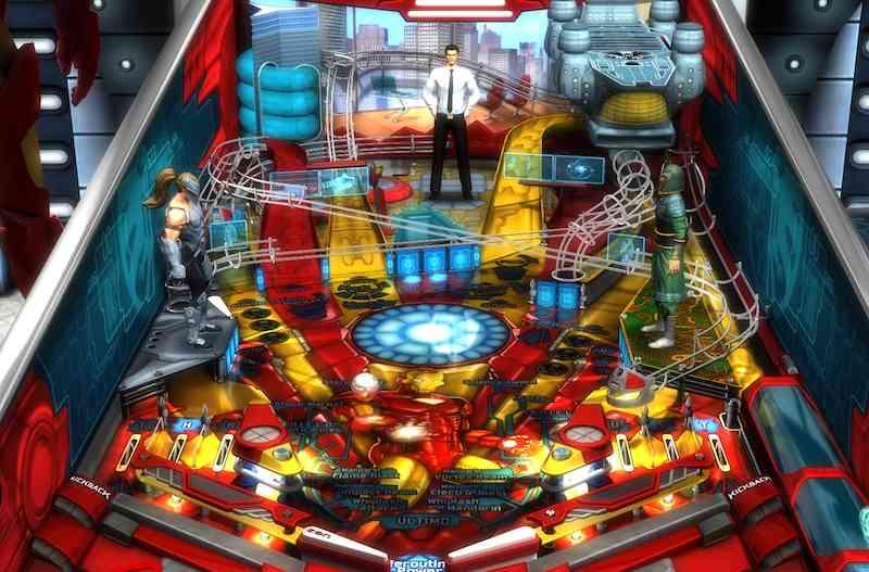 Zen Pinball 2 Iron man