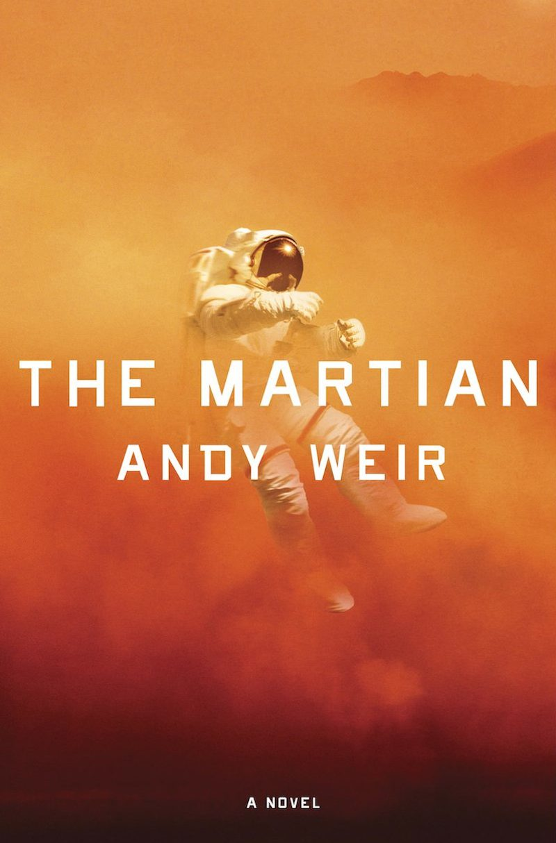 Andy Weir The Martian cover