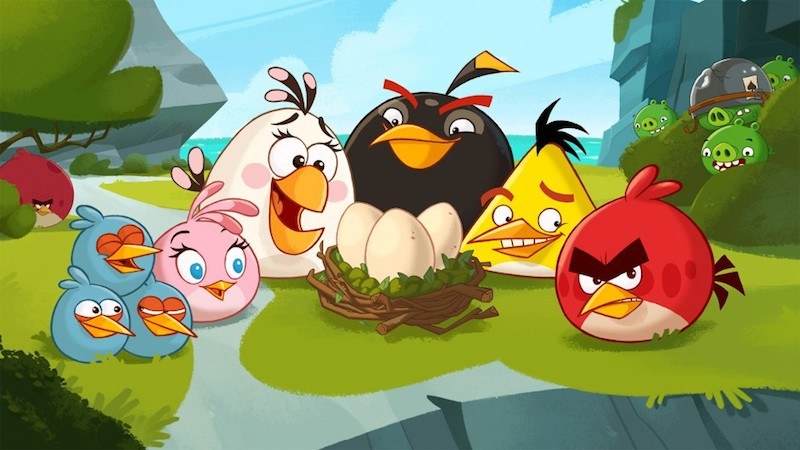 Angry Birds Toons main