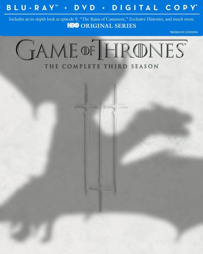 Game Of Thrones Season 3 cover