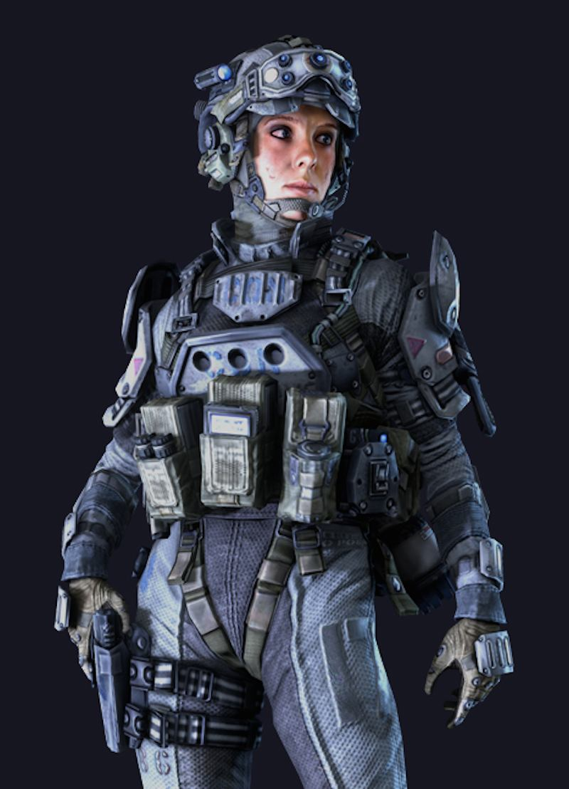 Abbie Heppe Titanfall pilot