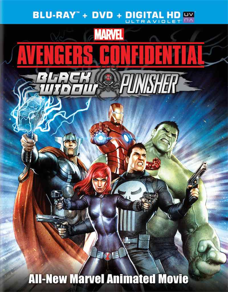 Avengers Confidential cover