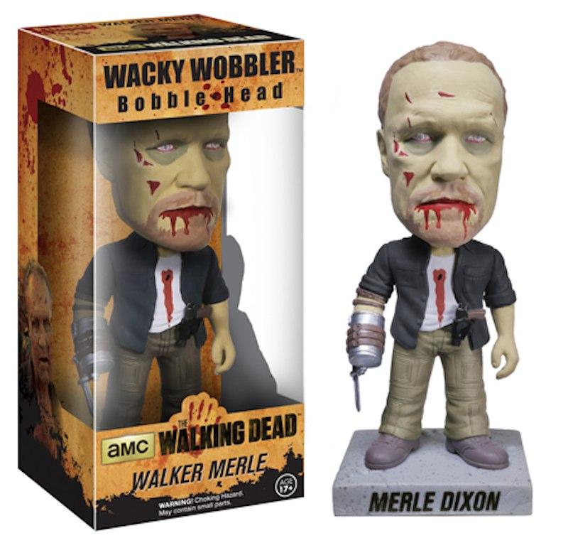 Walking Dead Bobble Head Merle Zombie