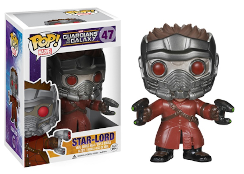 Funko Guardians Of The Galaxy POP 47 Star Lord