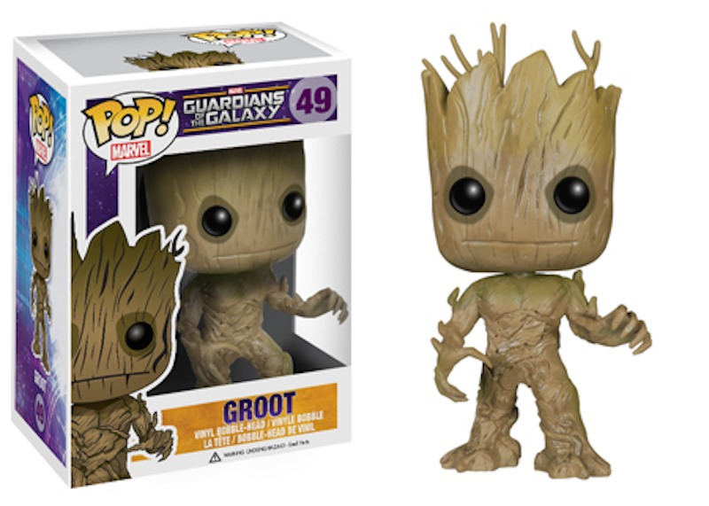 Funko Guardians Of The Galaxy POP 49 Groot