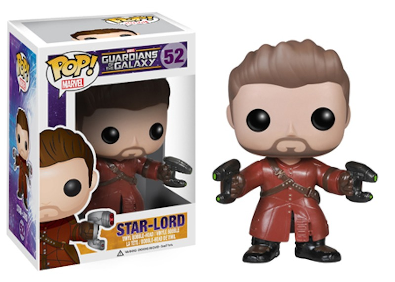 Funko Guardians Of The Galaxy POP 52 Unmaked Star-Lord