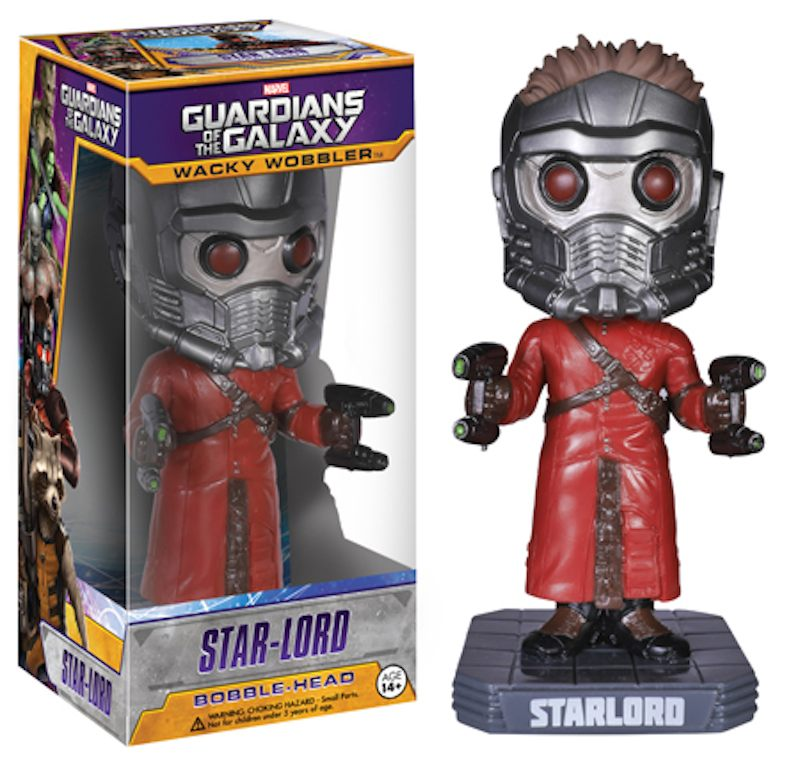 Funko Guardians Of The Galaxy Wacky Wobbler Star-Lord