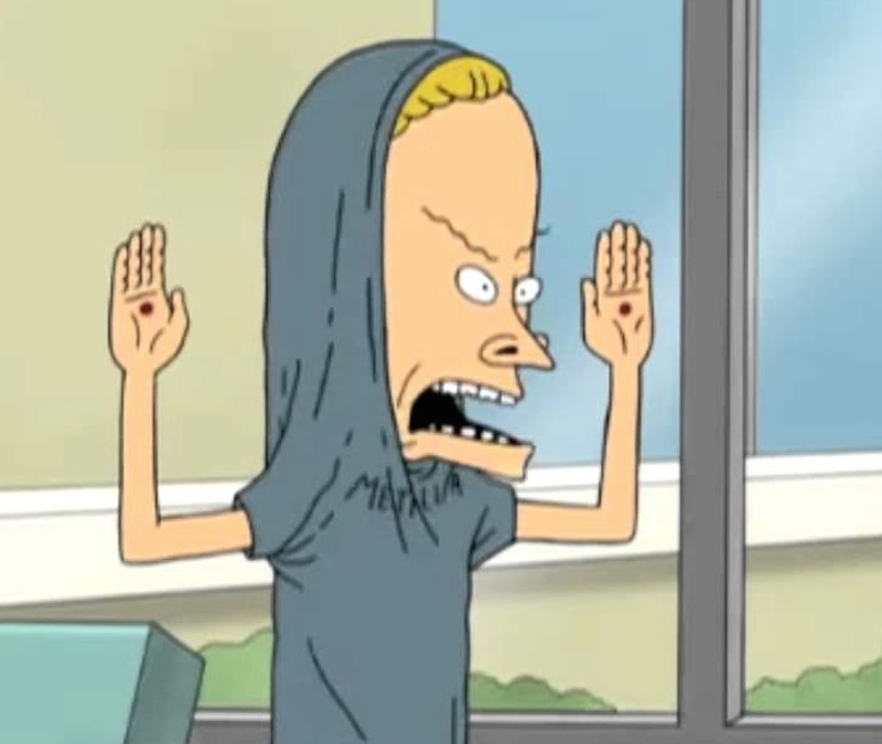 Mike Judge Beavis Butt-Head cornholio