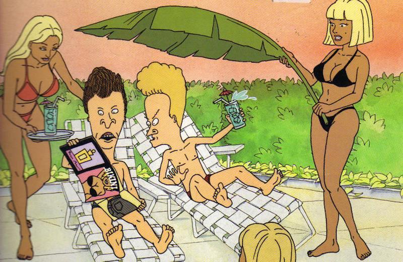 Mike Judge Beavis Butt-head Bikini