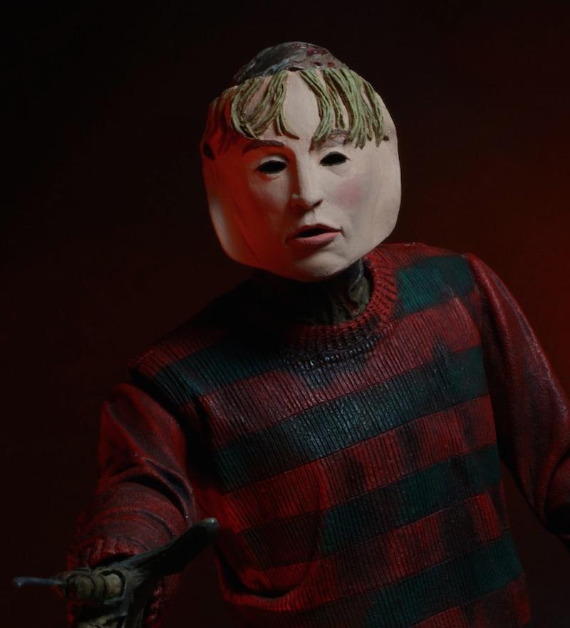 Nightmare On Elm Street Freedy Krueger with face