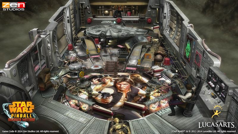 Star Wars Pinball Heroes Within Han Solo