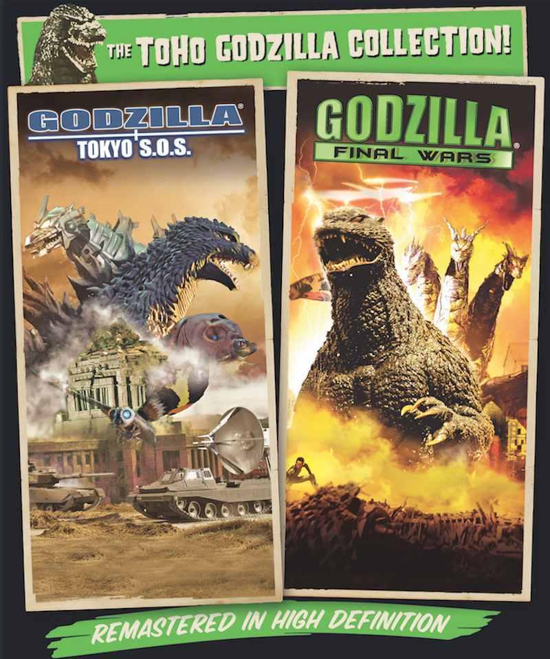 Godzilla Tokyo SOS:Godzilla Final Wars Blu-ray
