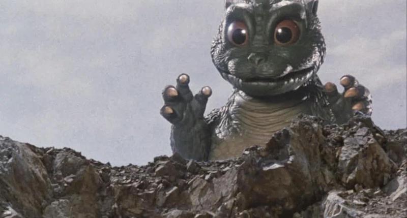Godzilla Vs SpaceGodzilla Little Godzilla