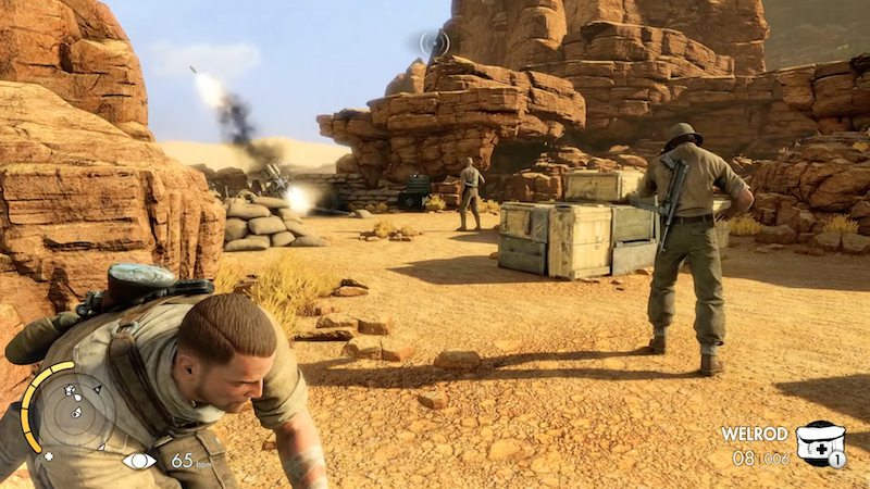 Sniper Elite III sneak