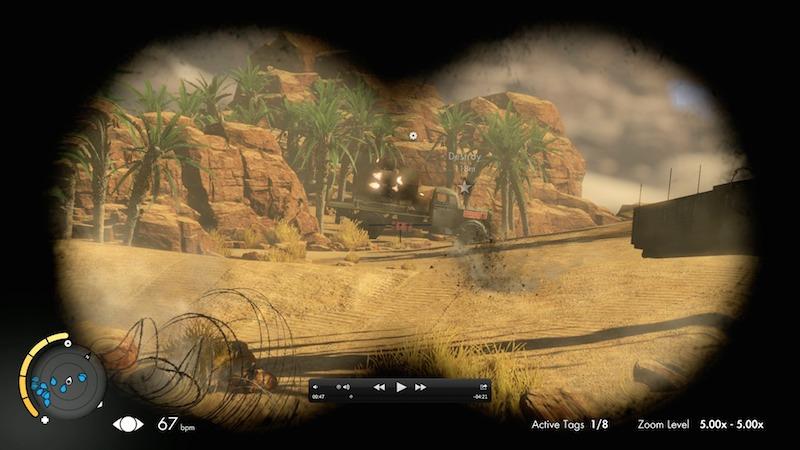 Sniper Elite III weak spot truck