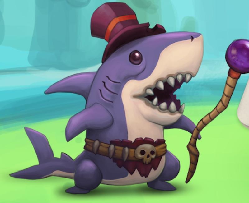 Toy Rush shark