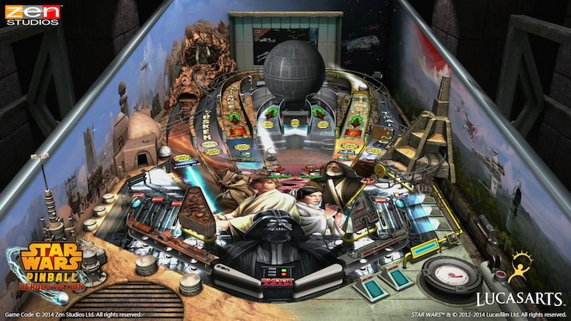 Zen Pinball Star Wars Episode IV