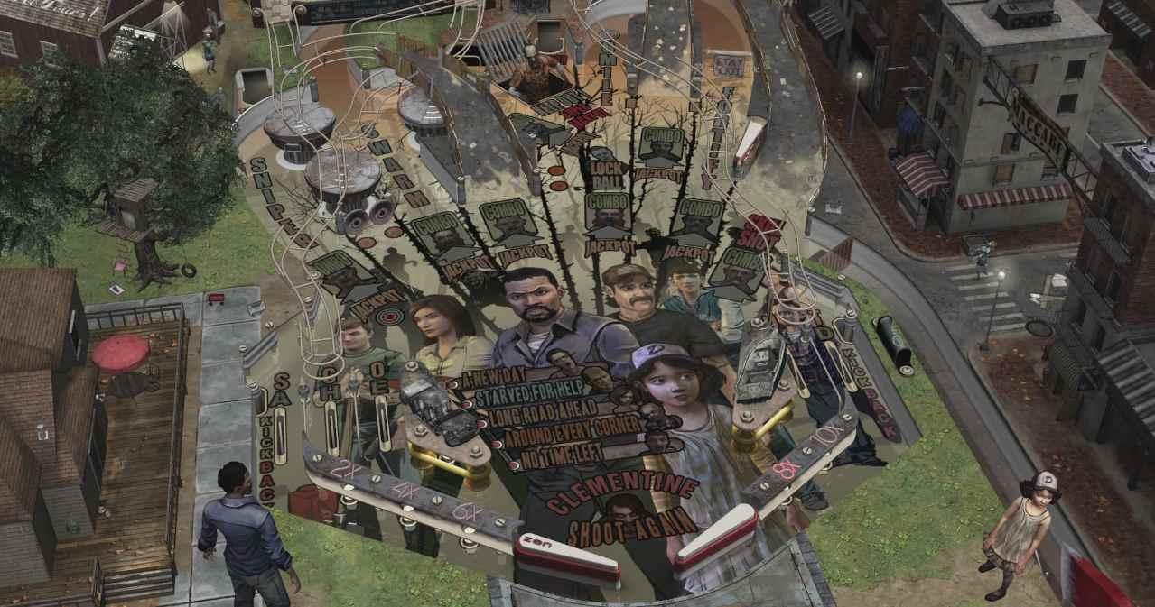 Zen Studios The Walking Dead Pinball 01