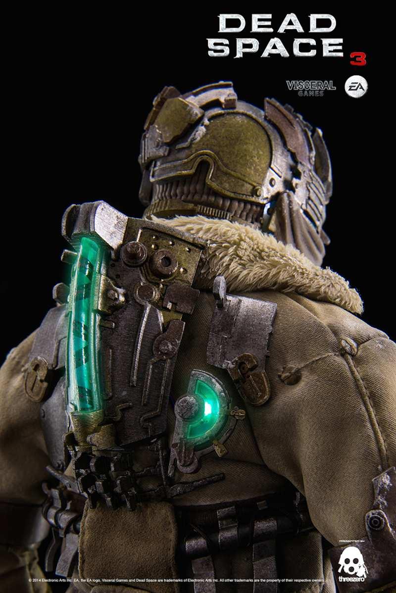 Dead Space 3 Isaac Clarke statue lights