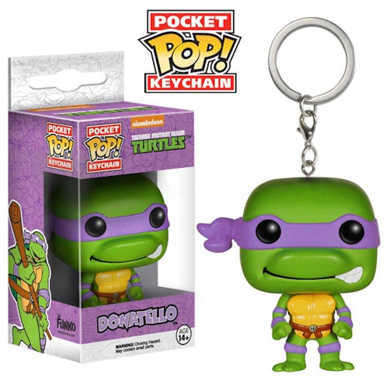 Donatello Funko Pop Keychains Game Of Thrones Batman Teenage Mutant Nina Turtles Walking Dead