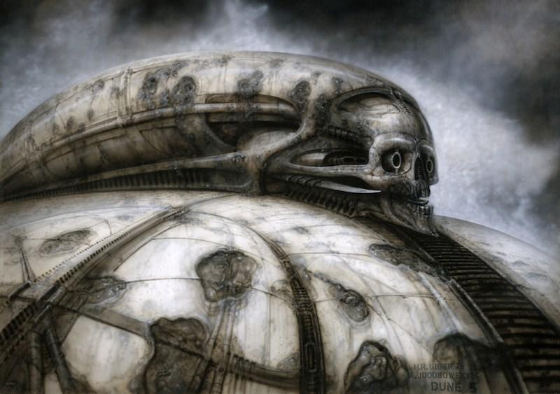 Jodorowskys Dune concept art
