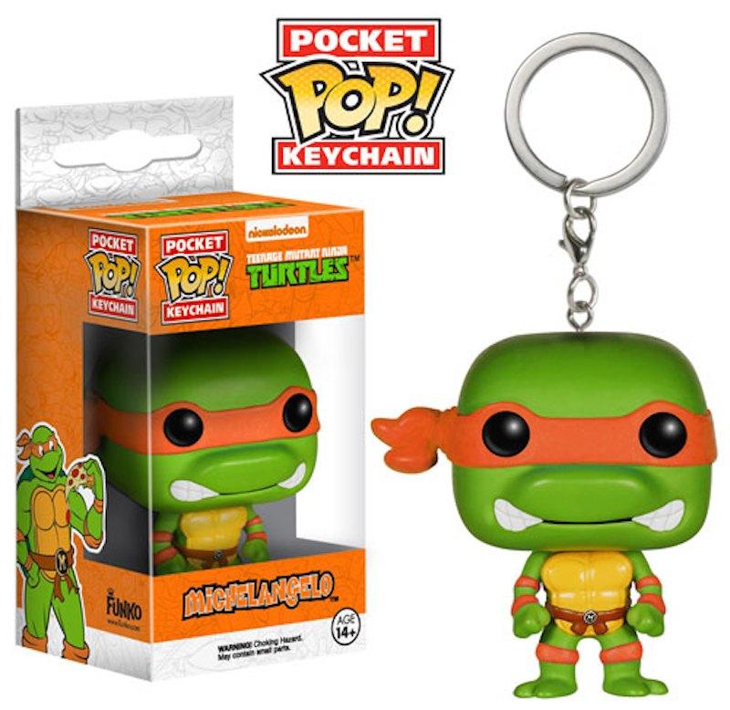 Michelangelo Funko Pop Keychains Game Of Thrones Batman Teenage Mutant Nina Turtles Walking Dead