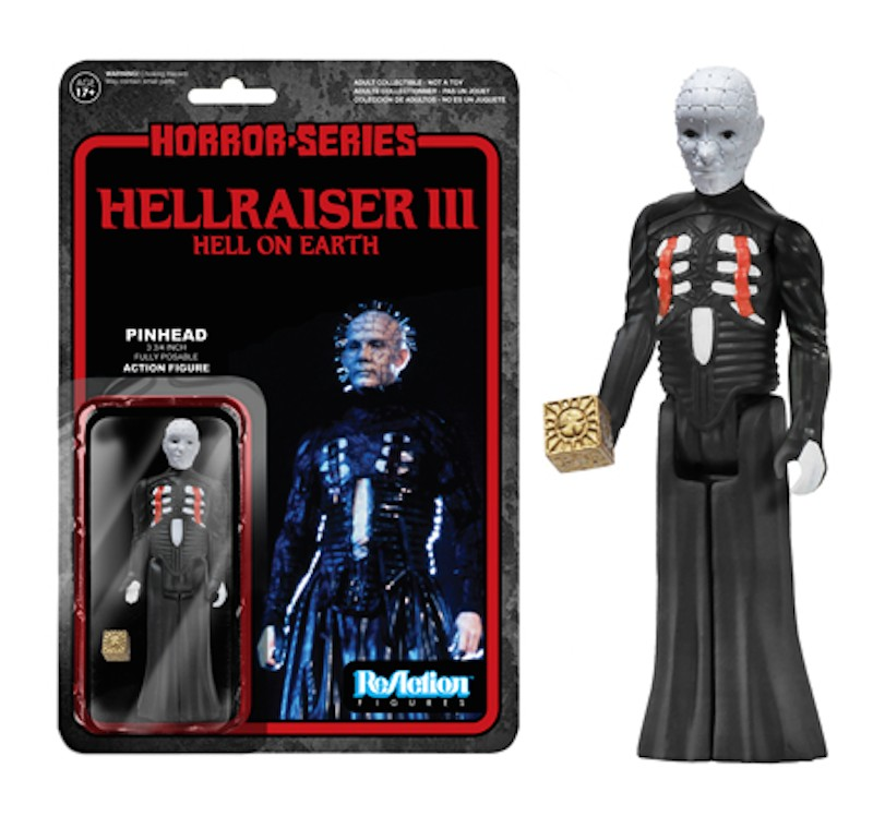 Pinhead Hellraiser III Reaction Funko