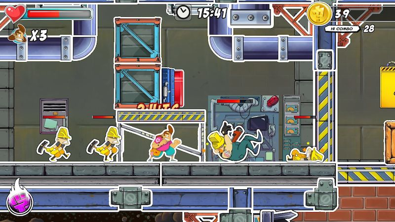 Super Comboman Adult Swim Games 03