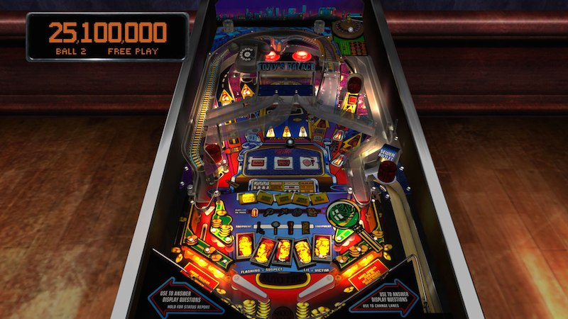 The Pinball Arcade WHO Dunnit