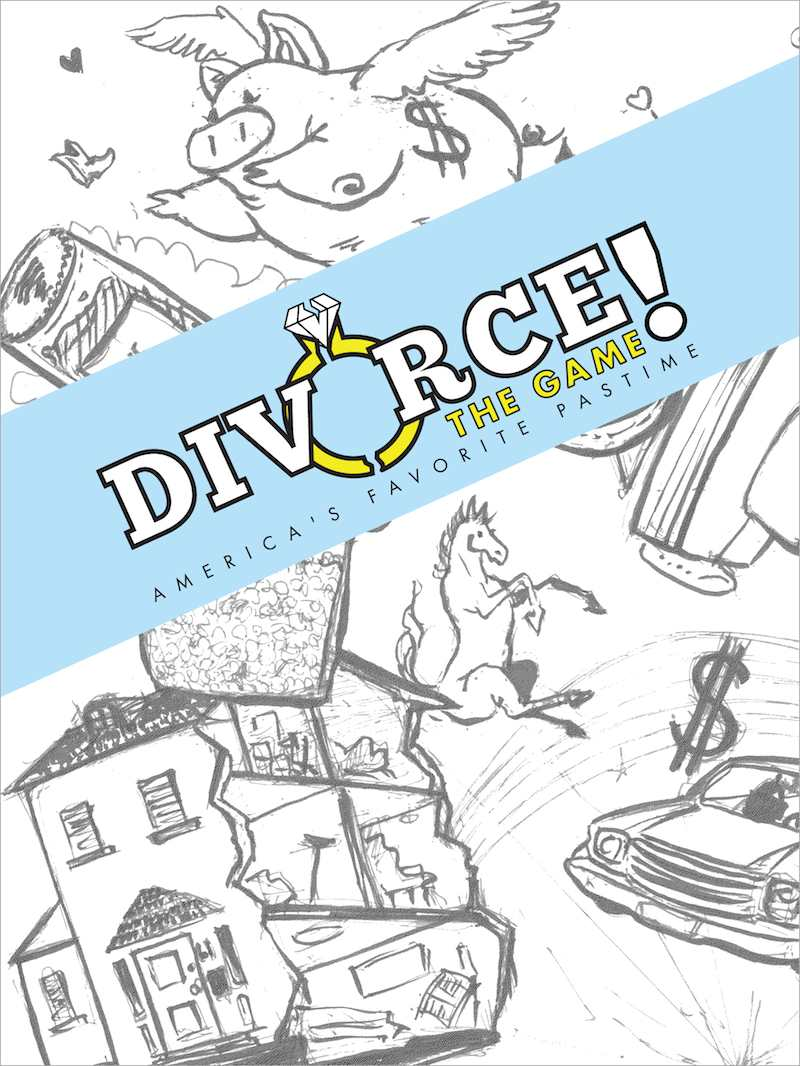 Divorce! The Game box