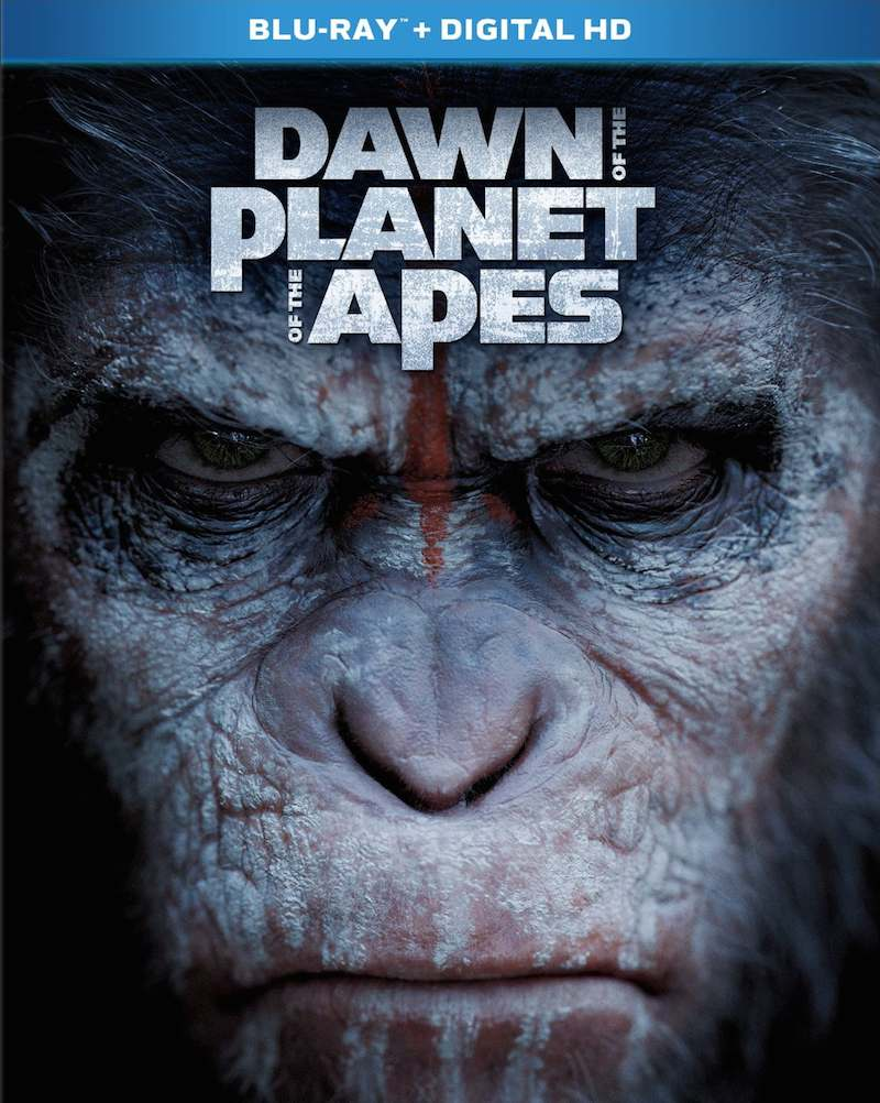Dawn Of The Planet Of The Apes cover