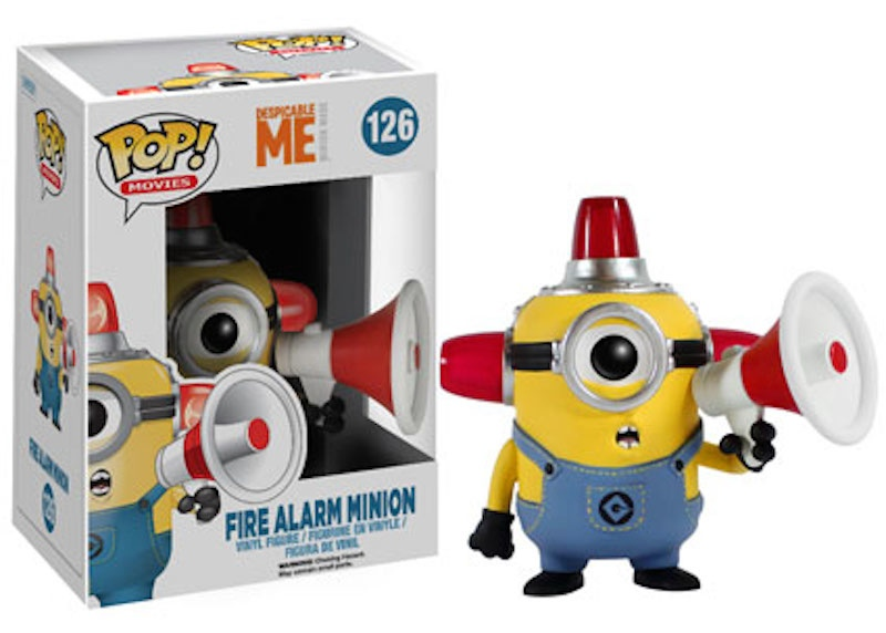 Funko Despicable Me 126 Fire Alarm Minion