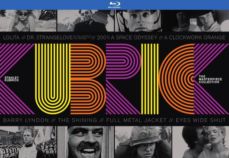 Stanley Kubrick The Masterpiece Collection cover:main