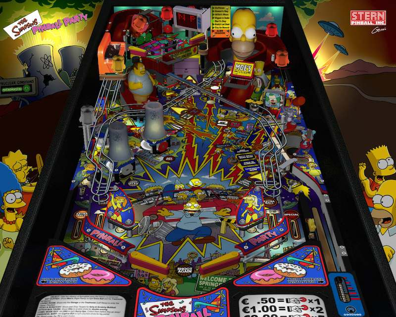 The Simpsons Pinball Arcade