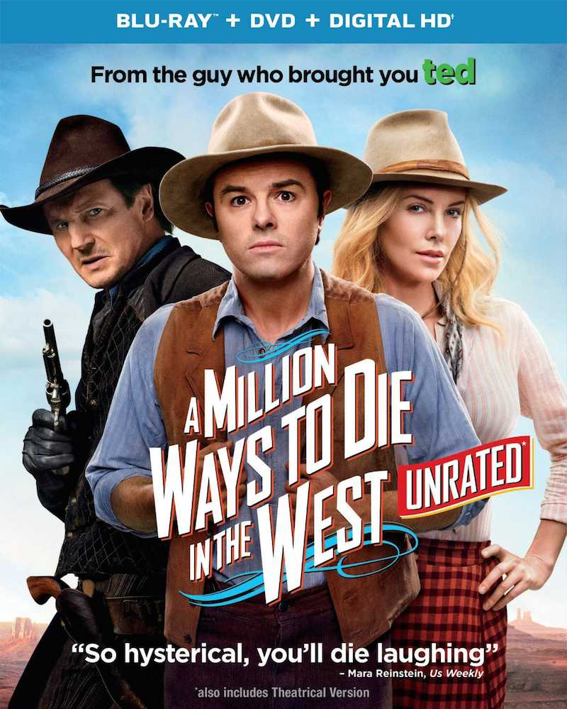 A Million Ways To Die In The West Seth MacFarlane cover