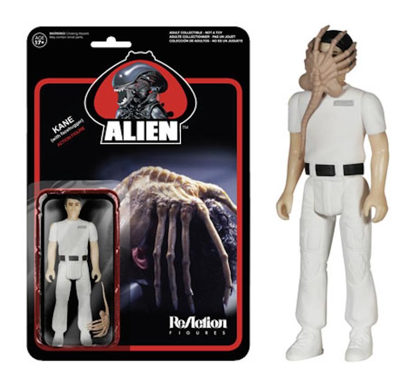 Funko ReAction Alien Kane face hugger